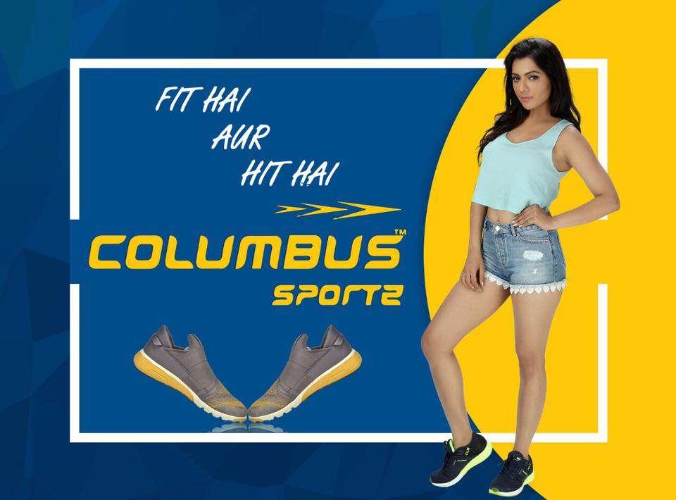 Ruhi Singh endorses Columbus Sports