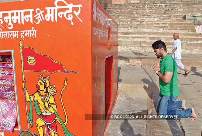 Vipul at Chet Singh Fort (BCCL/ Unmesh Pandey)