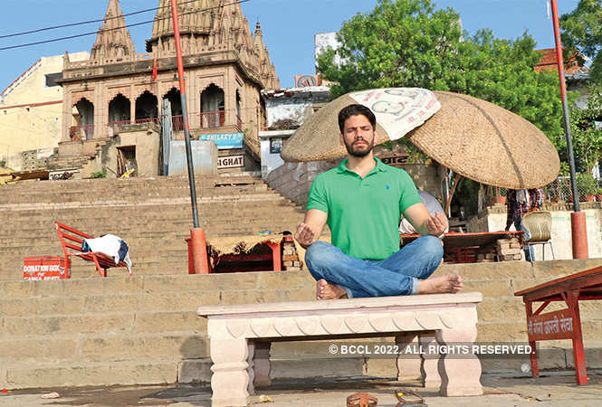 Some meditation for the actor  (BCCL/ Unmesh Pandey)