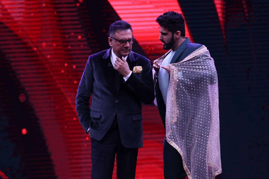 Boman Irani and Arjun Kapoor having a fun time