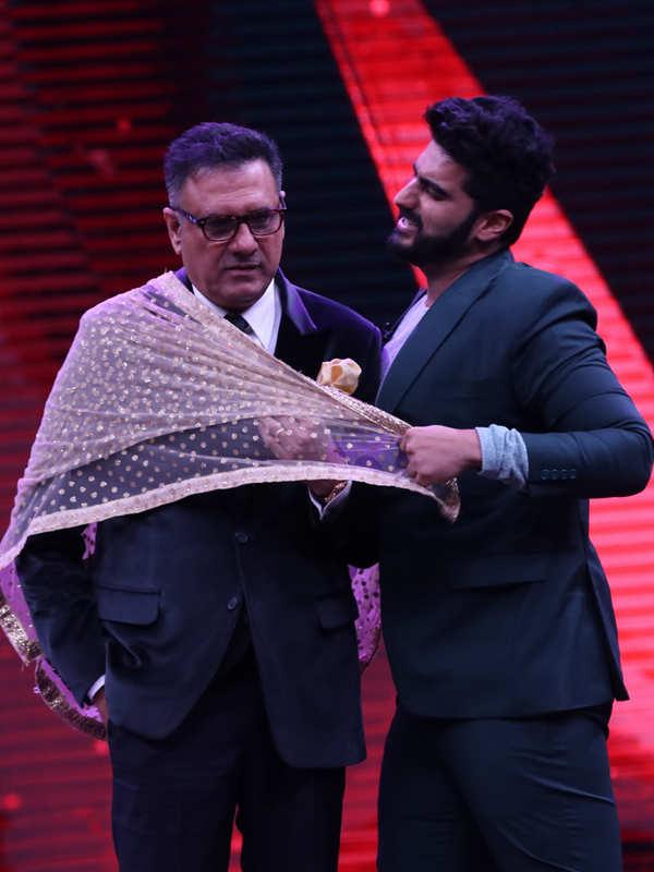 Arjun Kapoor and Boman Irani
