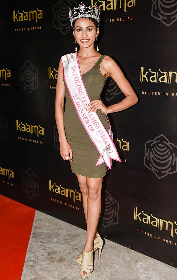 Priyanka Kumari at Kaamaa Pre-launch party