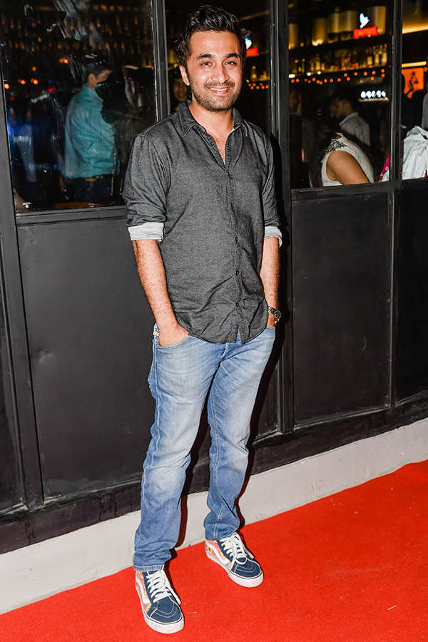 Siddhant Kapoor at Kaamaa pre-launch party