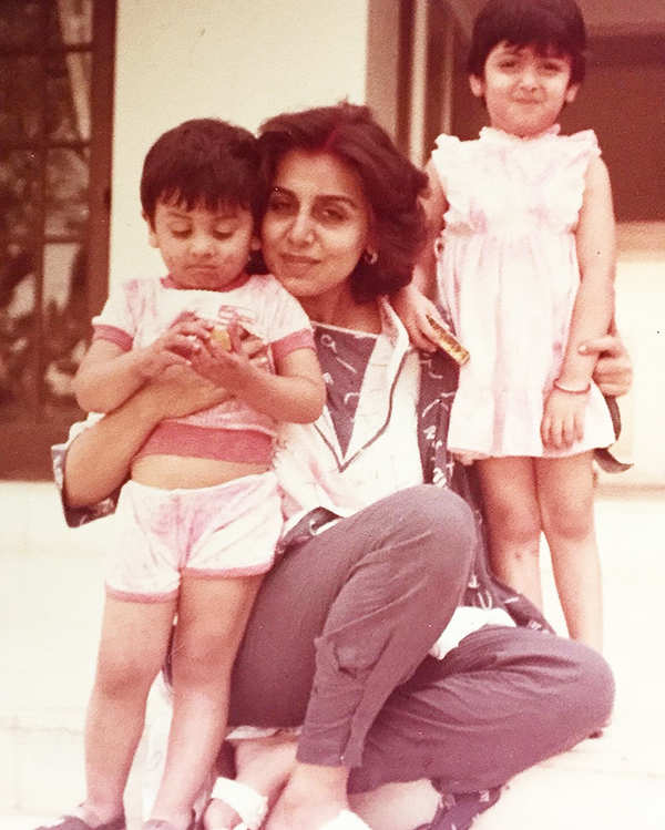 Take a look at candid photos of Neetu Kapoor as she celebrates her birthday with family