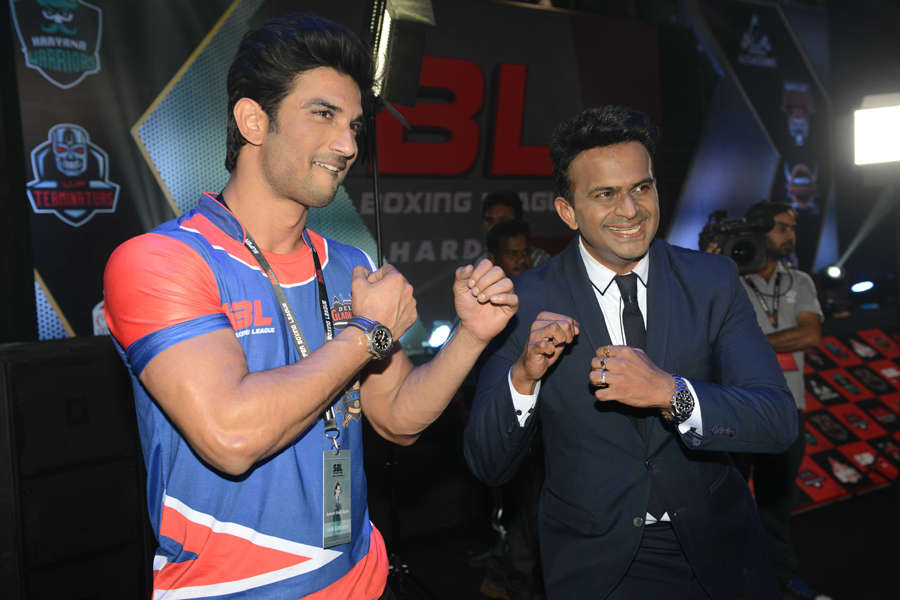 Celebs at Super Boxing League