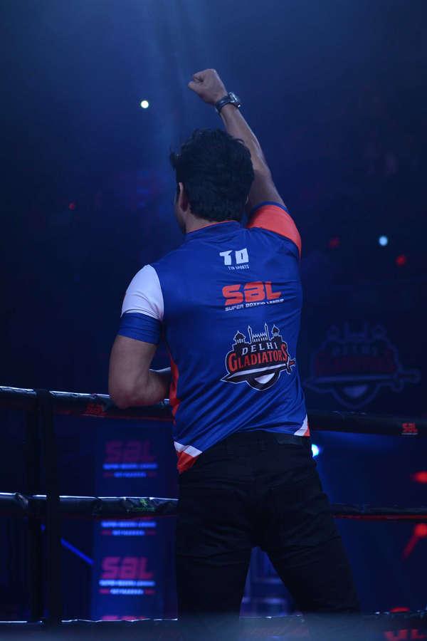 Celebs at Super Boxing League