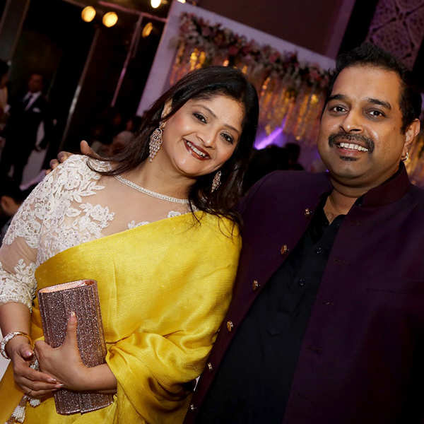 Dilip Vengsarkar's daughter's wedding reception