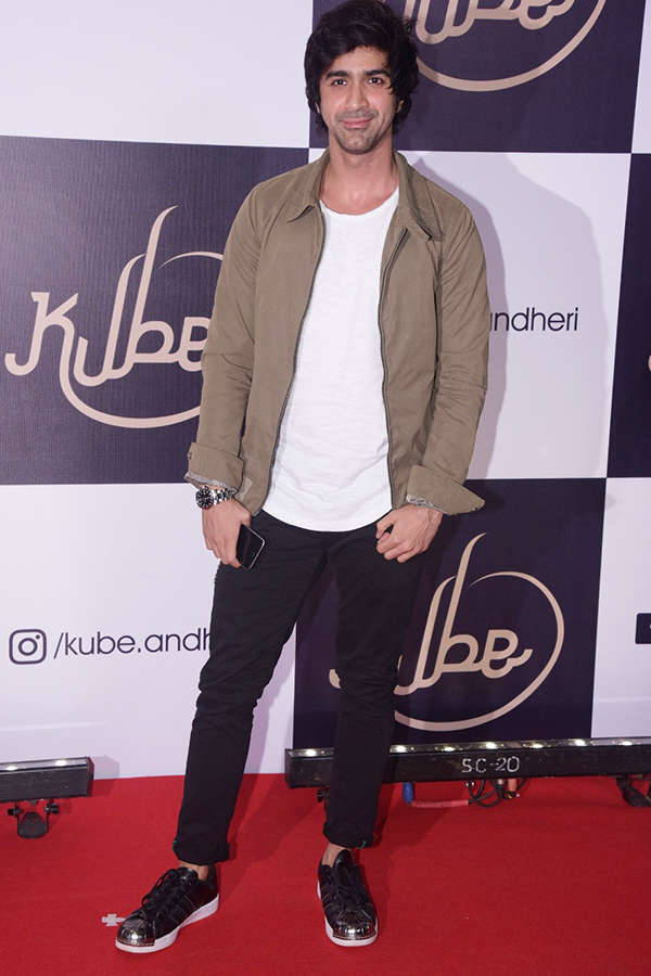Celebs at KUBE launch party