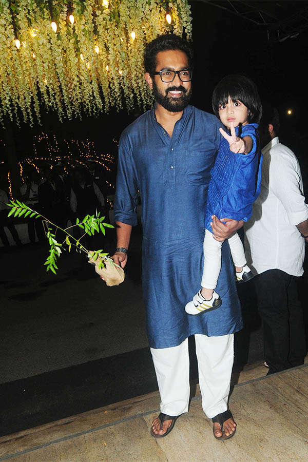 Director VK Prakash's daughter's wedding reception