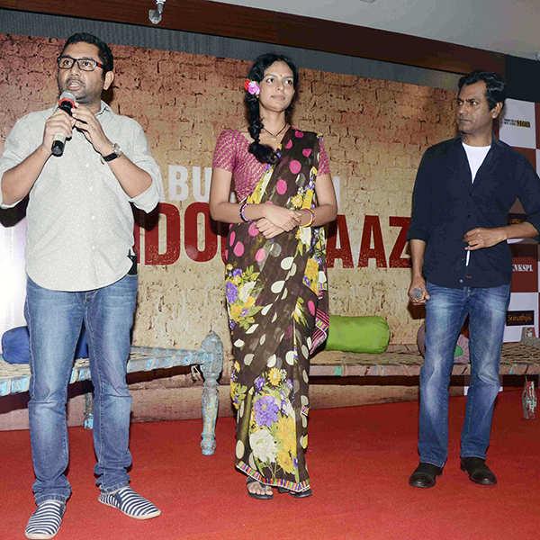 Babumoshai Bandookbaaz: Trailer launch