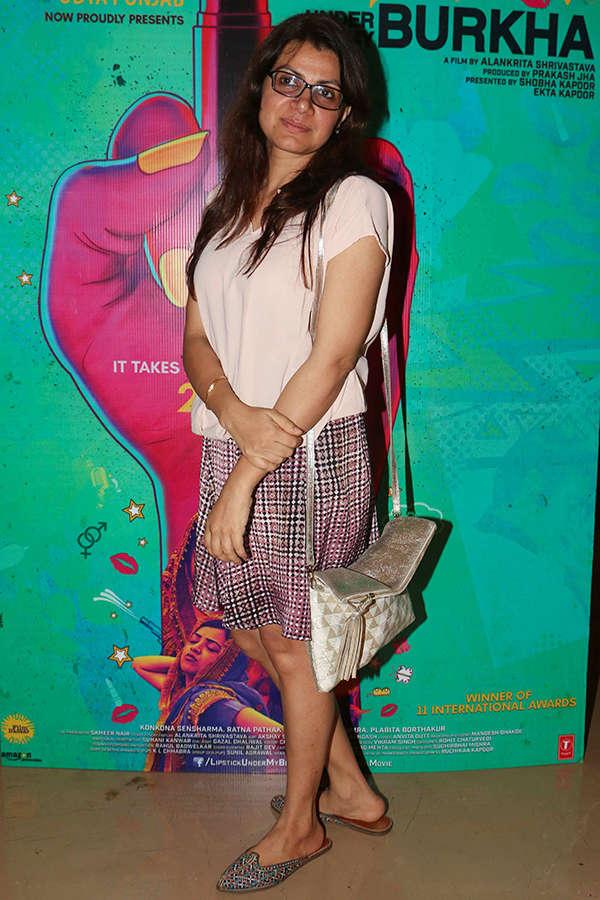 Alankrita Shrivastava at the screening of Lipstick Under My Burkha