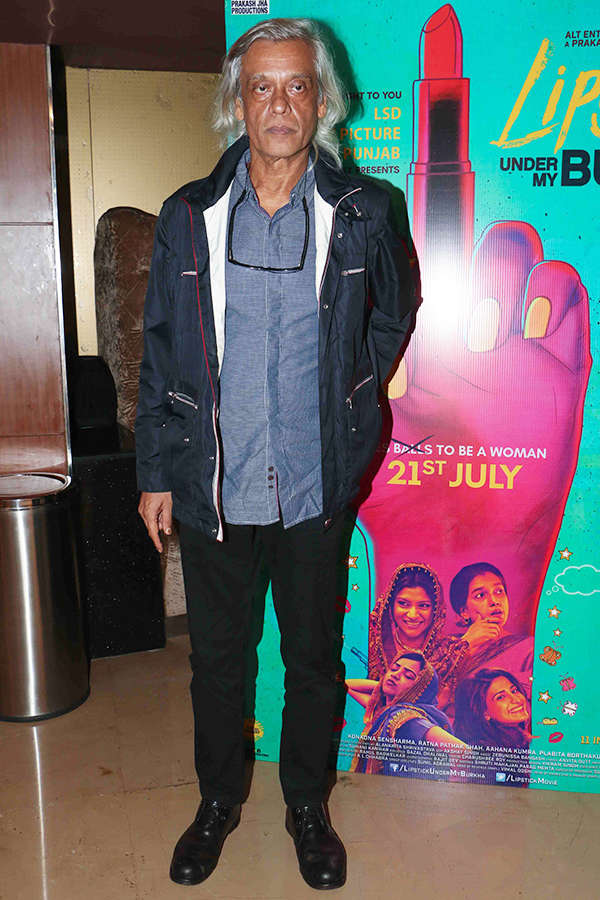 Sudhir Mishra at the screening of Lipstick Under My Burkha