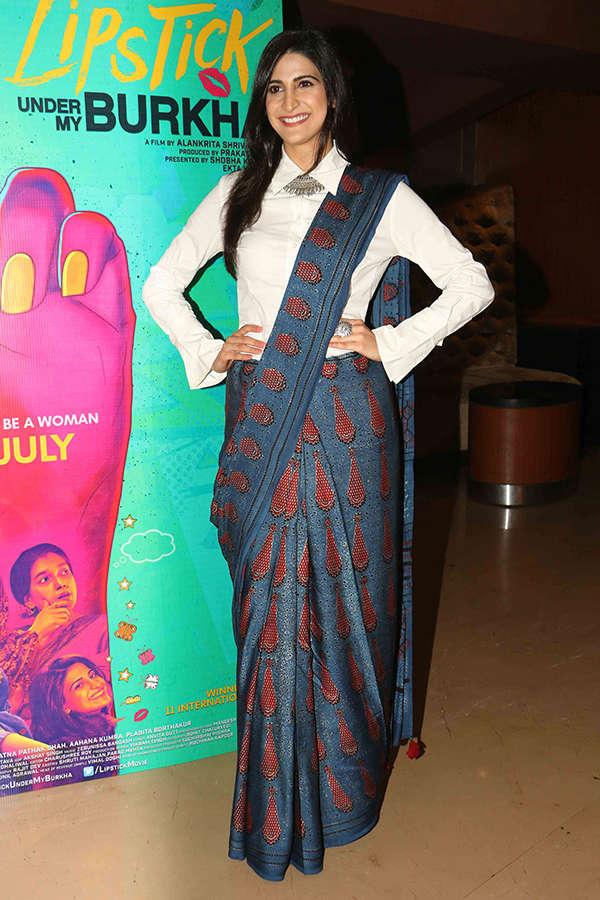 Aahana Kumra at the screening of Lipstick Under My Burkha