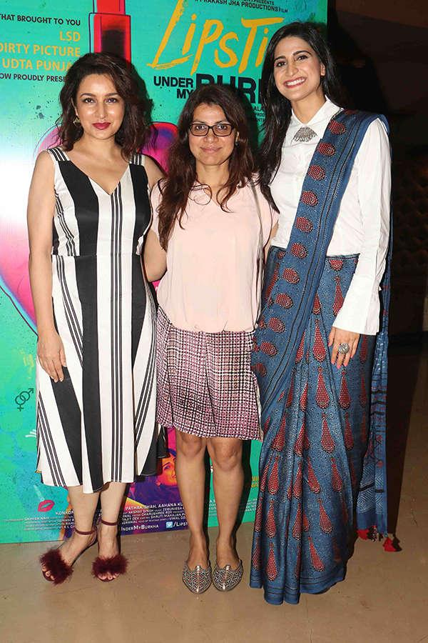 Tisca Chopra, Alankrita Shrivastava and Aahana Kumra