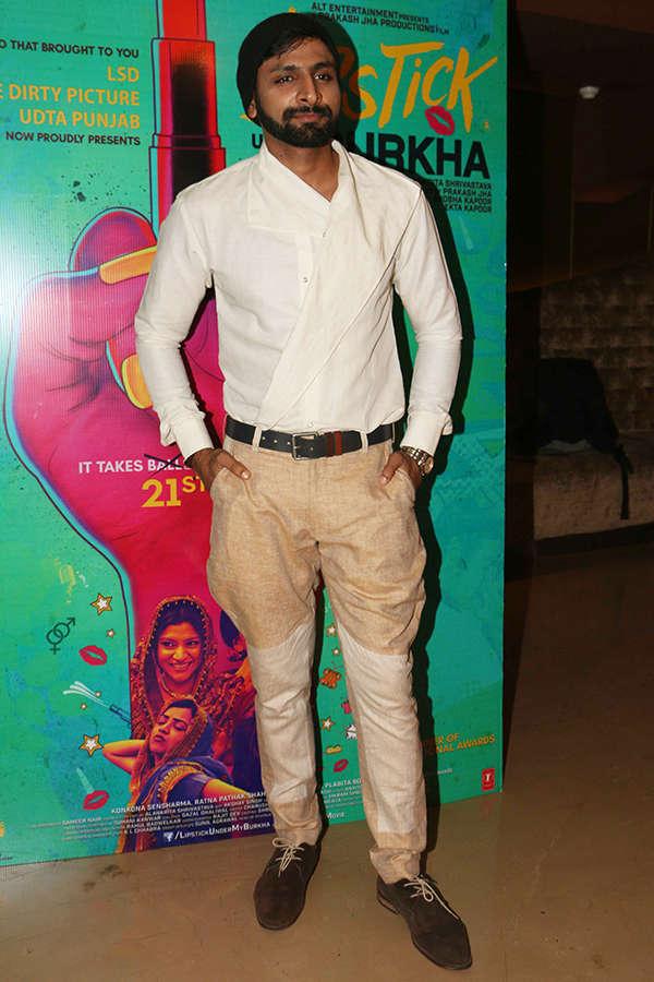 Vaibbhav Tatwawdi at the screening of Lipstick Under My Burkha