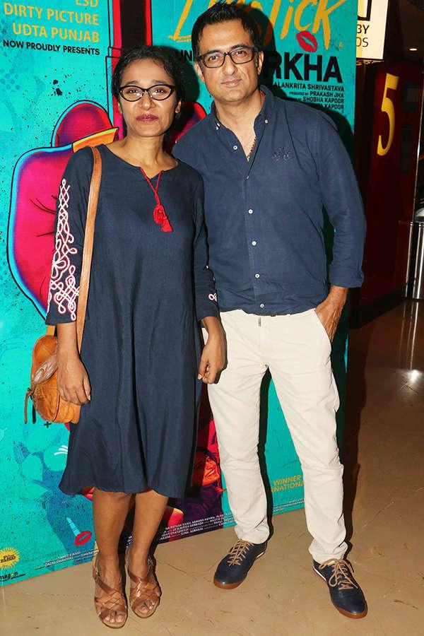 Sanjay Suri at the screening of Lipstick Under My Burkha