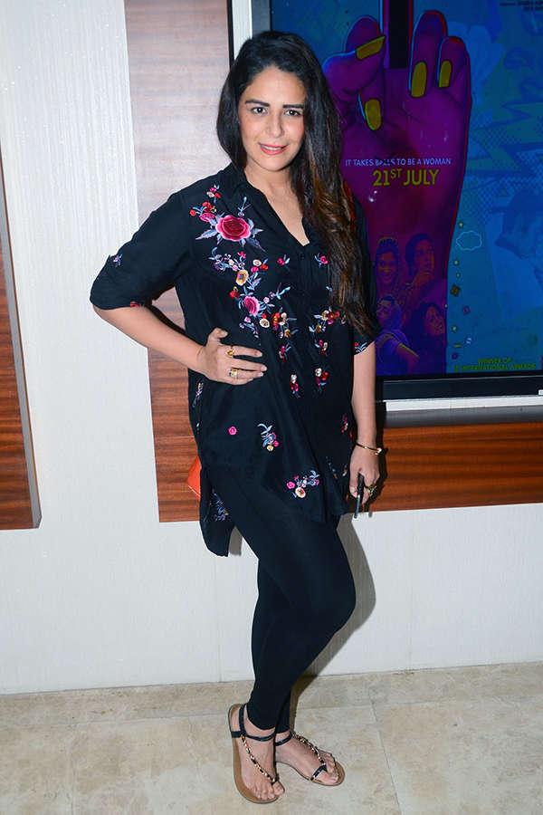 Mona Singh at the screening of Lipstick Under My Burkha