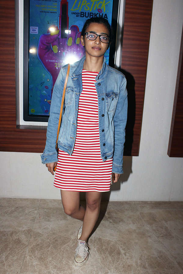 Radhika Apte at the screening of Lipstick Under My Burkha