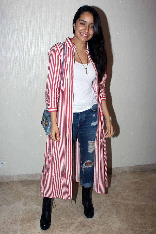 Shraddha Kapoor at the screening of Lipstick Under My Burkha