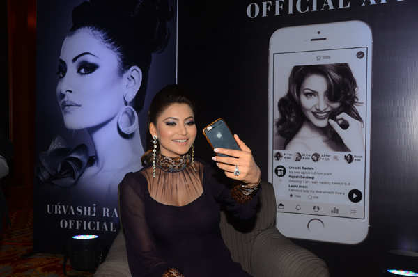 Urvashi Rautela launches her own app named after her