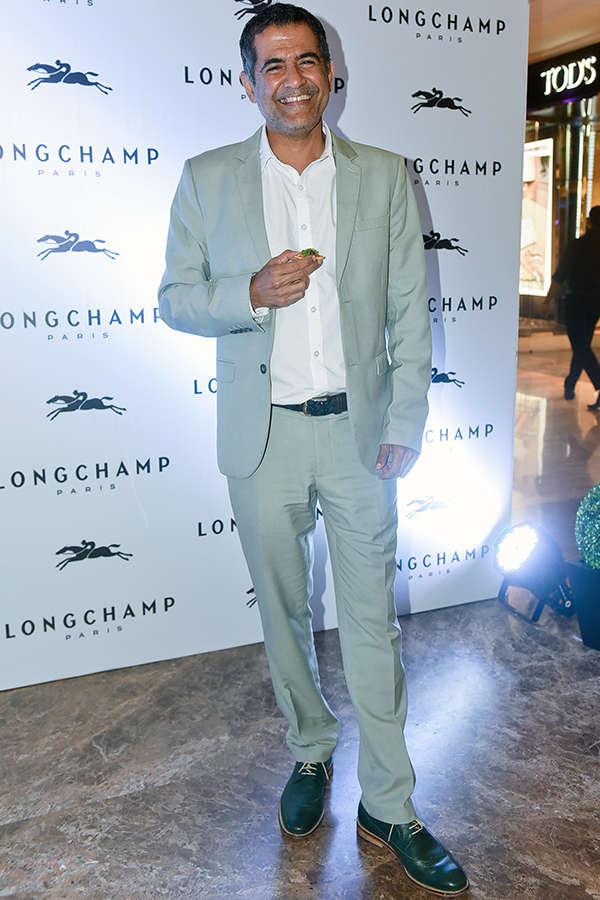Longchamp store launch