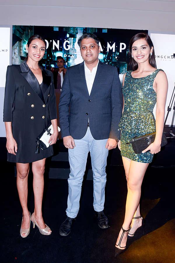 Longchamp store launch