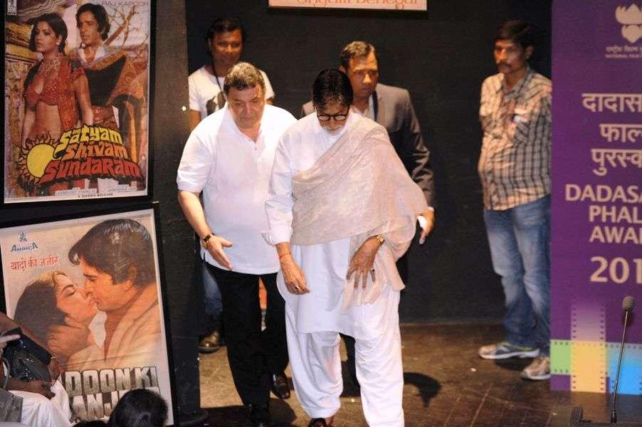 Rishi Kapoor & Amitabh Bachchan
