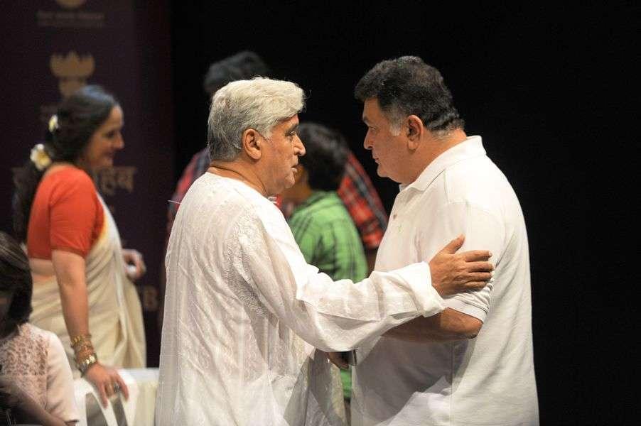 Rishi Kapoor & Javed Akhtar