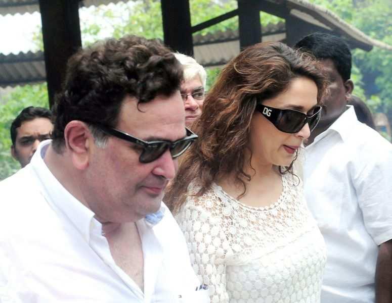 Rishi Kapoor & Madhuri Dixit
