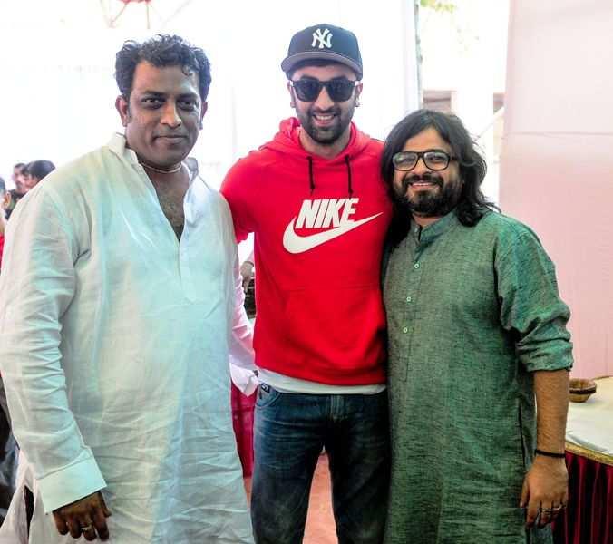 Ranbir Kapoor, Anurag Basu and Pritam