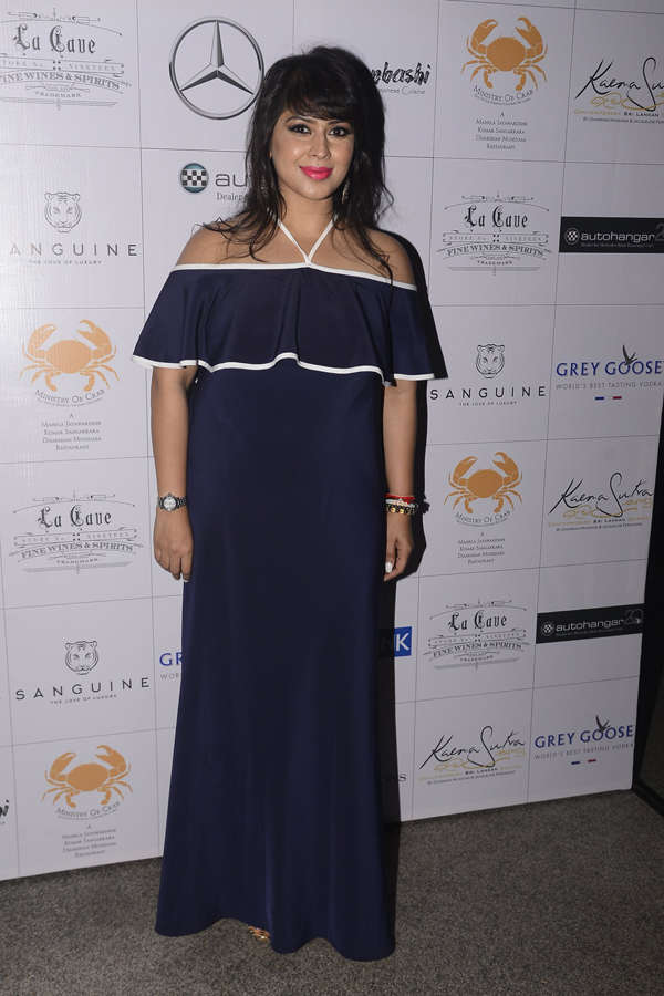 Celebs at culinary event