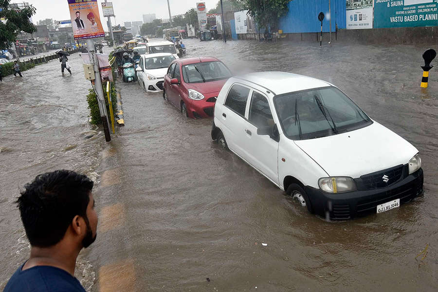 Photo story: Flood crisis deepens in several parts of India