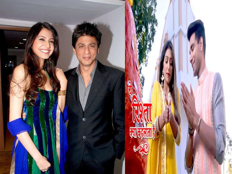 Shah Rukh Khan and Anushka Sharma to appear on 'Yeh Rishta Kya Kehlata Hai'