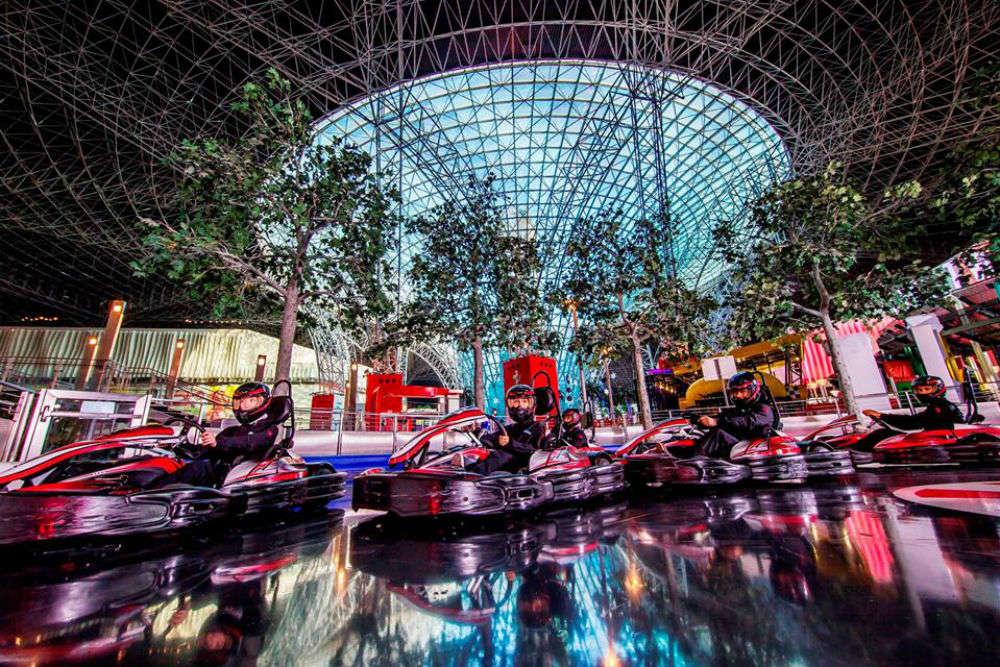 Ferrari World Theme Park In Abu Dhabi Ferrari Park Sightseeing Times Of India Travel