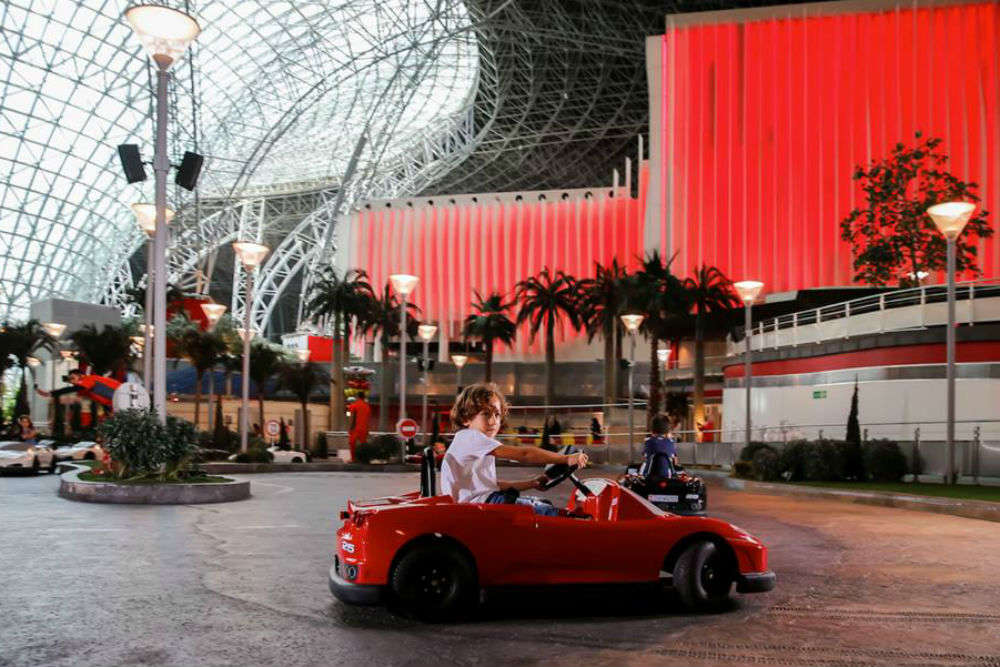 Ferrari World Theme Park In Abu Dhabi | Ferrari Park