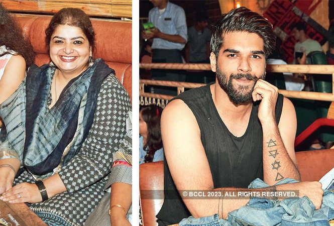 Aashrita Dass (R) Aditya Prakash  (BCCL/ Farhan Ahmed Siddiqui)