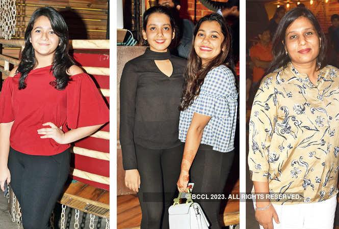 Chahak Gulati, Muskaan, Priyanshi and Shubhra Mittal  (BCCL/ Farhan Ahmed Siddiqui)
