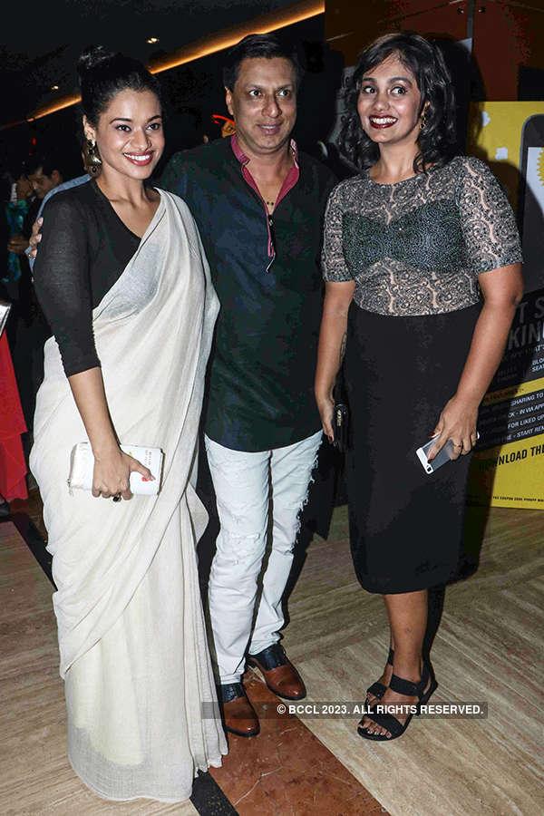 Madhur Bhandarkar at the premiere of Indu Sarkar