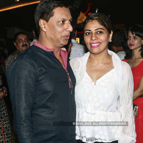 Madhur Bhandarkar and Renu Bhandarkar