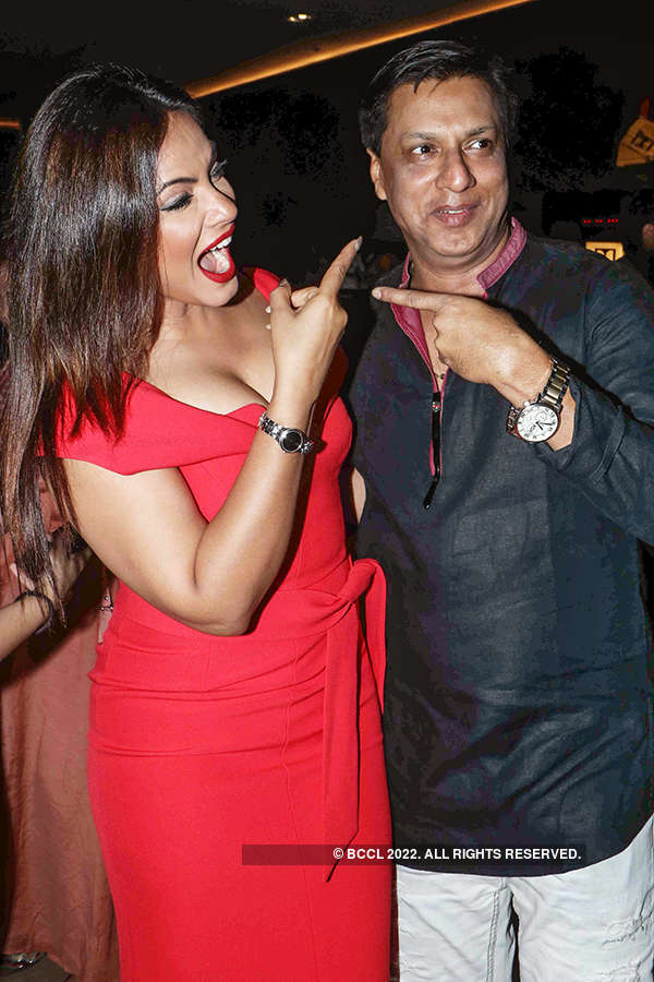 Neetu Chandra and Madhur Bhandarkar