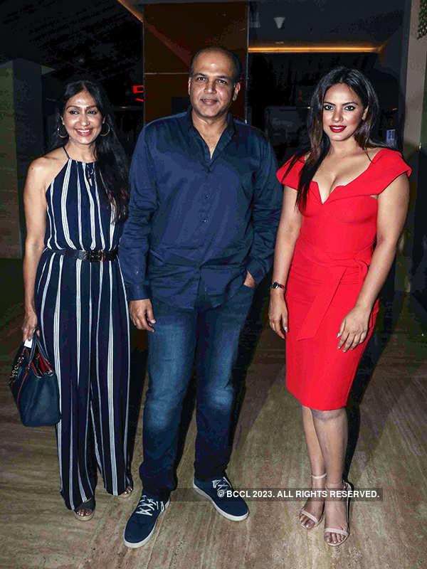 Ashutosh Gowariker, Sunita Gowariker and Neetu Chandra
