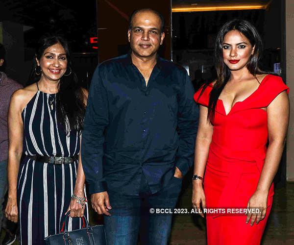 Sunita Gowariker, Ashutosh Gowariker and Neetu Chandra