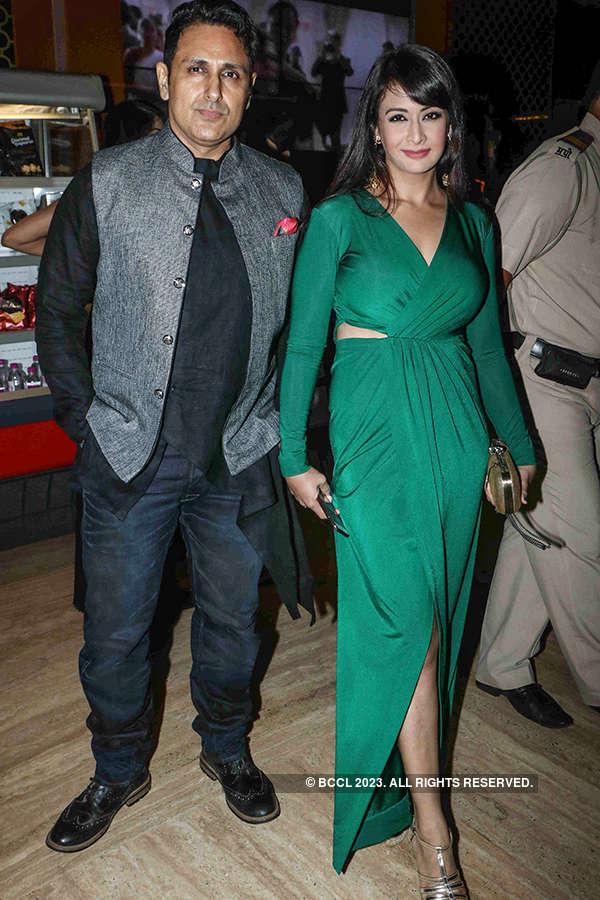 Parvin Dabas and Preeti Jhangiani at the premiere of Indu Sarkar