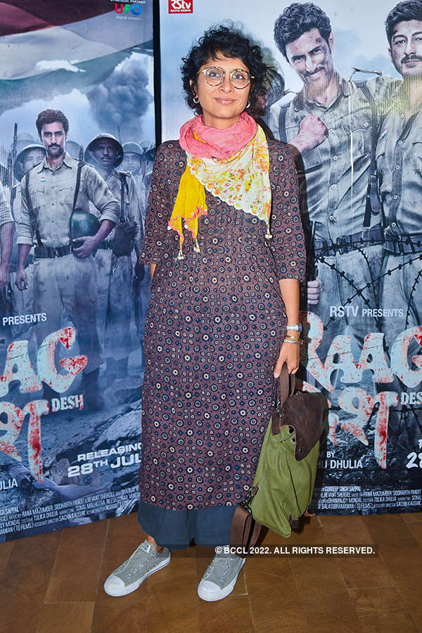 Raag Desh: Screening