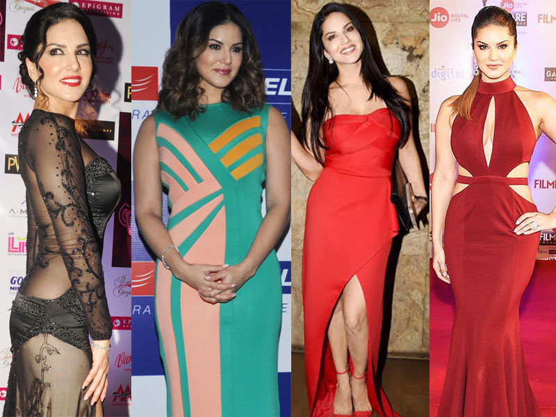 Sunny Leone photos: 10 times Sunny Leone sizzled in a gown | The