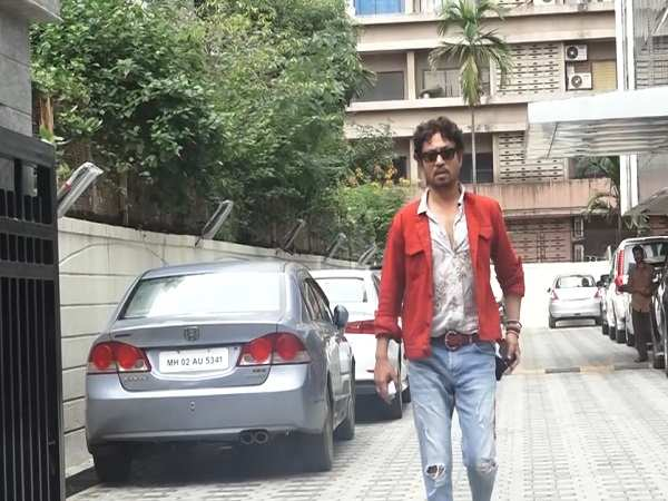 Spotted! Irrfan Khan in the city