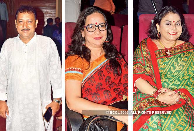 L-R Rajeev Shukla, Sadaf Jafar and Sarita Srivastava  (BCCL/ Farhan Ahmad Siddiqui)