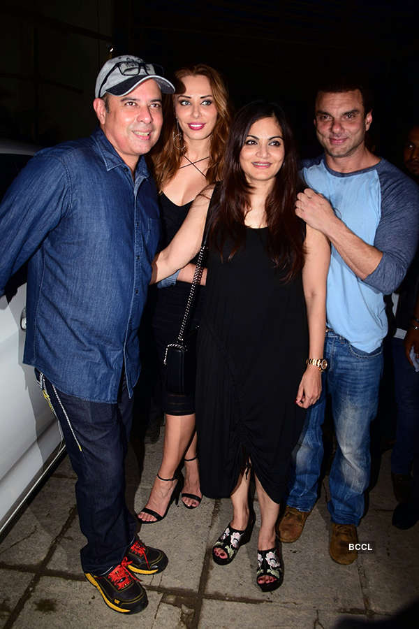 Celebs attend Arbaaz Khan's b'day party