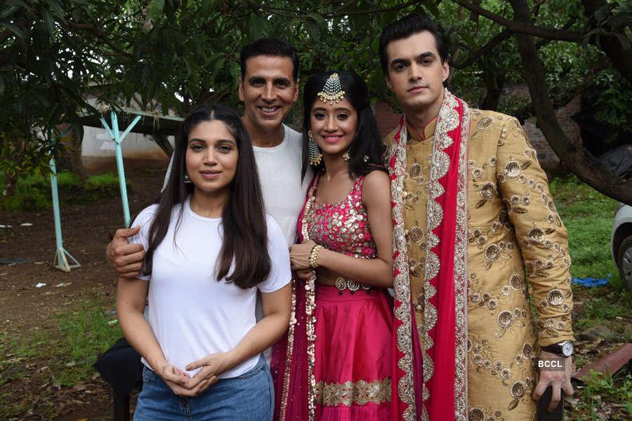 Yeh Rishta Kya Kehlata Hai: On the sets