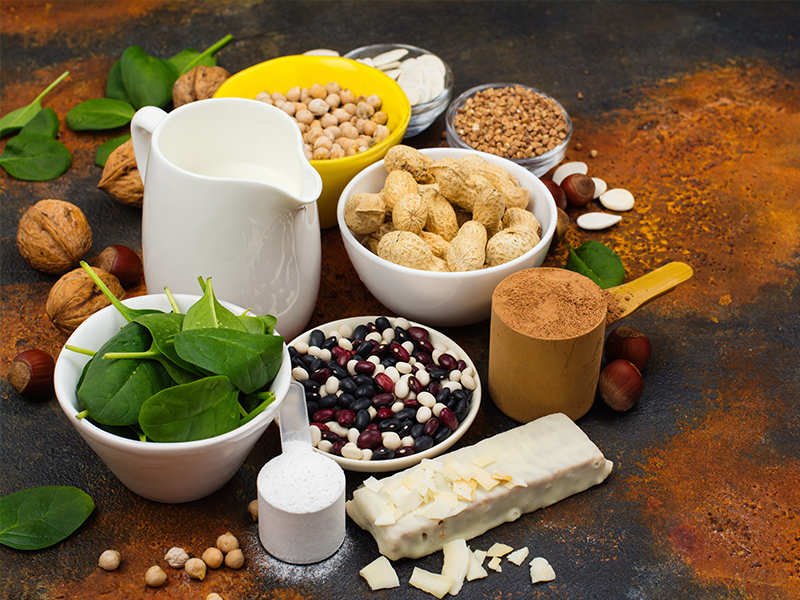 10 Veg substitute of non-veg for your protein diet   The Times of India